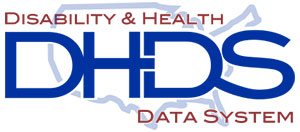 Disability and Health Data System logo